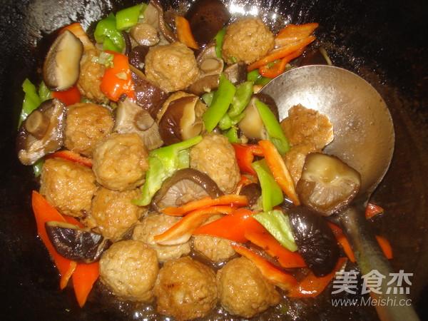 香菇豆腐丸子怎样炒