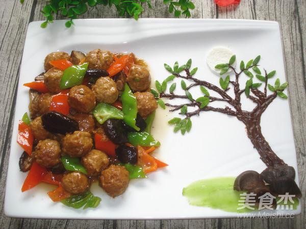 香菇豆腐丸子的制作方法