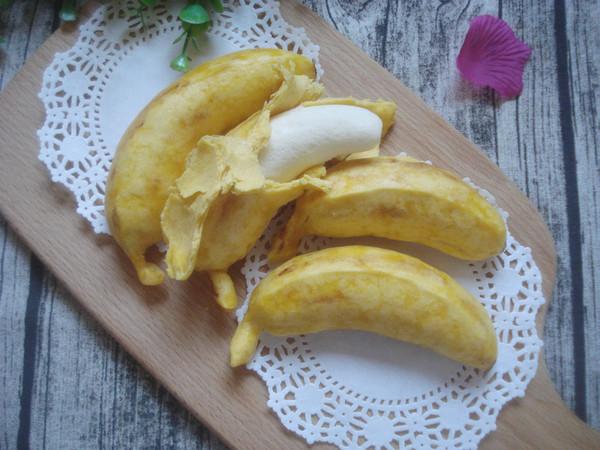 仿香蕉馒头怎么煸