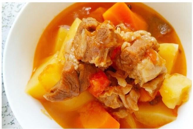 番茄土豆胡萝卜炖牛腩——高压锅版怎样炖