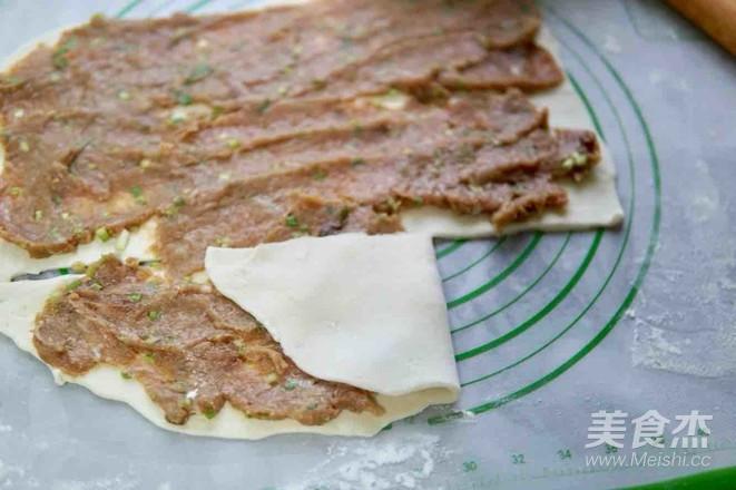 猪肉大葱千层肉饼怎样煮