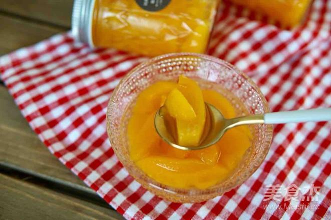 自制黄桃罐头怎样做