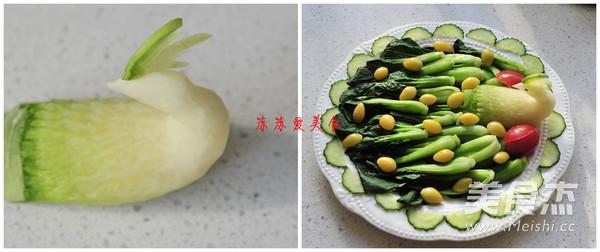 白果烩油菜怎么吃