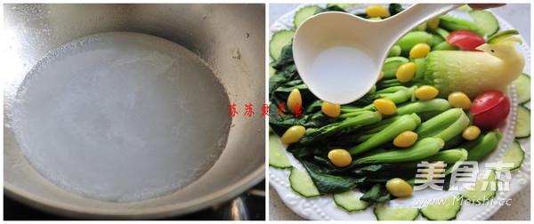 白果烩油菜怎么做