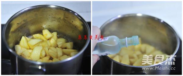 焦糖苹果面包的家常做法