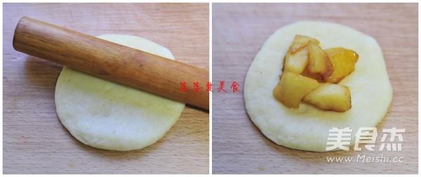 焦糖苹果面包怎么吃