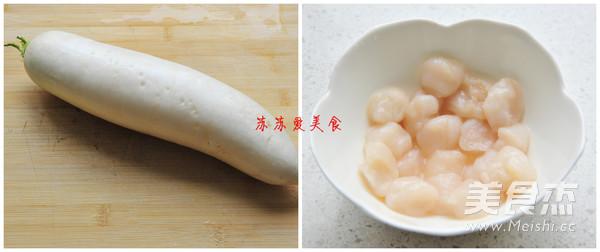 萝卜鲜贝汤的做法大全