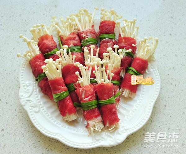 韩式泡菜肥牛卷的做法图解