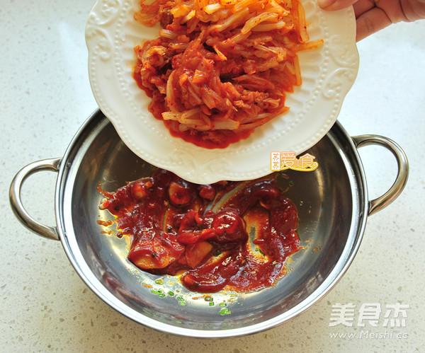 韩式泡菜肥牛卷怎么做