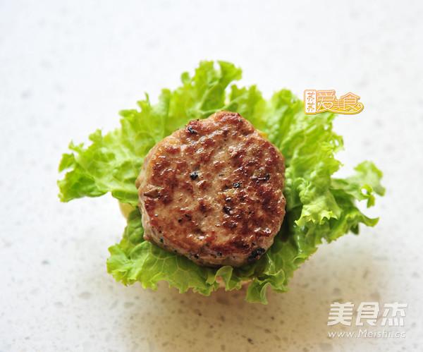 迷你牛肉汉堡怎么煸