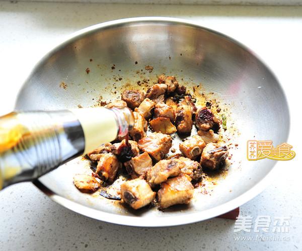 排骨焖饭的家常做法