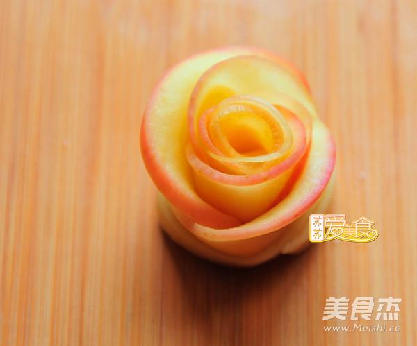 苹果玫瑰卷怎么炖