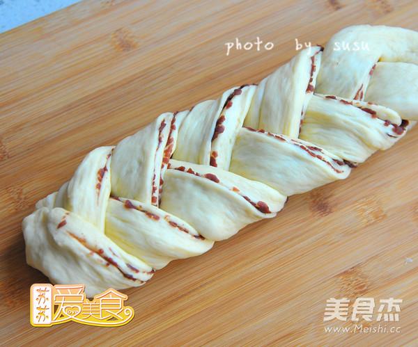 辫子豆沙包怎么做