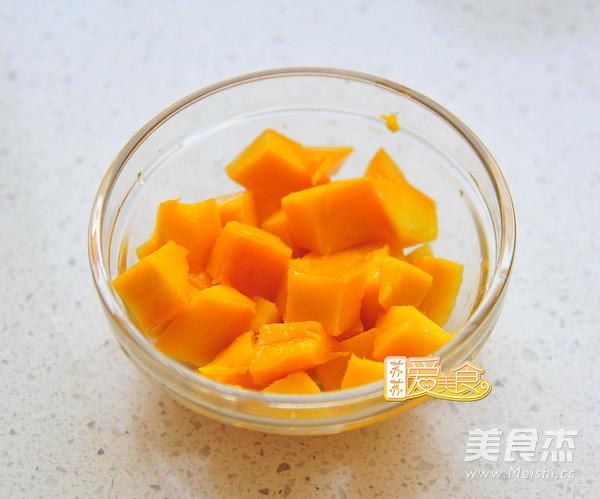微波炉十分钟做零失败的芒果糯米糍怎么吃