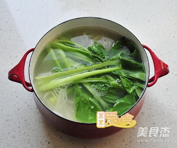 三伏天最爱爽翻天的酸汤面的做法图解