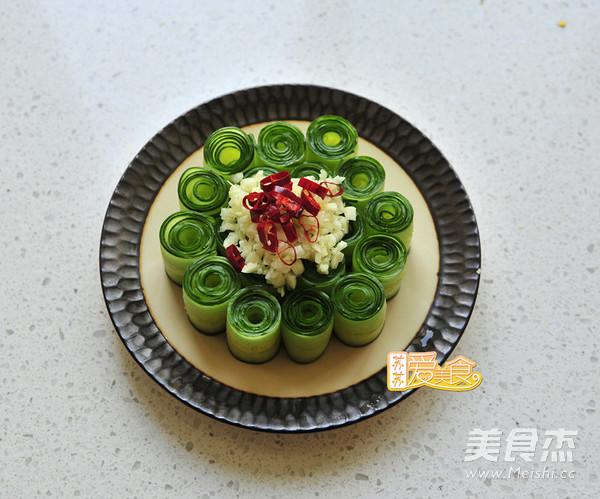 """好吃又好看的""""网红""""响油黄瓜卷怎么炒"""