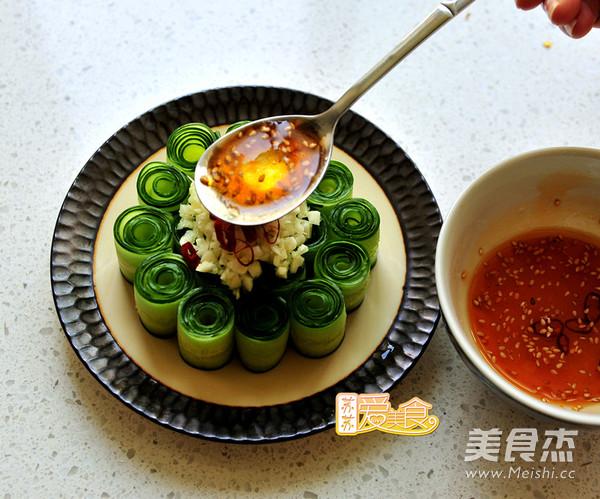 """好吃又好看的""""网红""""响油黄瓜卷怎么煮"""