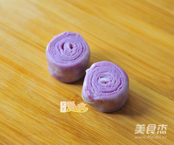 层层叠叠酥得掉渣的紫薯酥怎么煮