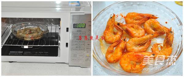 懒人版盐焗大虾的家常做法