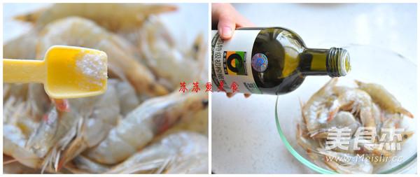懒人版盐焗大虾的做法图解