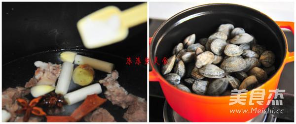 花蛤炖羊肉汤的家常做法