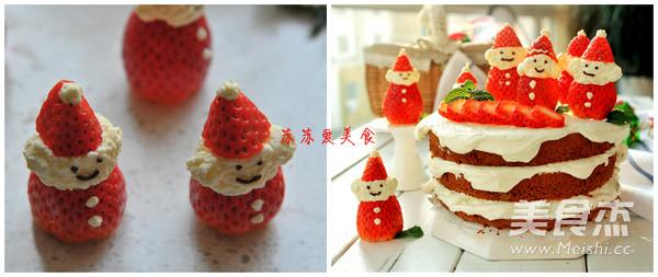 雪景圣诞老人蛋糕怎么炖