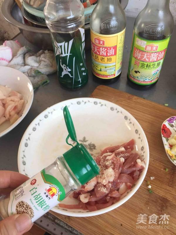 辣椒炒肉丝的做法图解