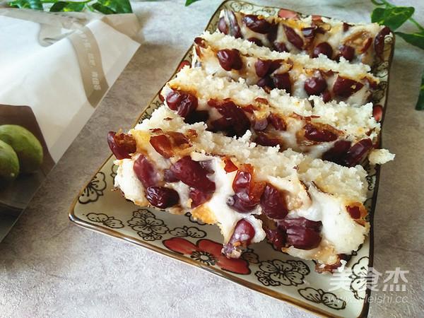 红枣粘米发糕成品图