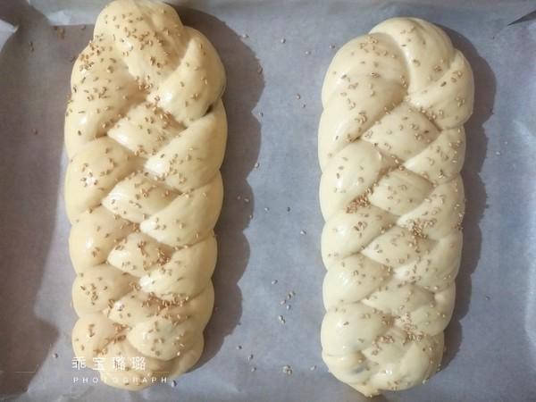 黑芝麻酱面包的做法大全