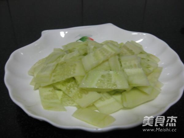 黄瓜炒鸡蛋的家常做法