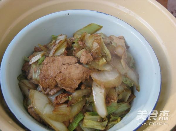 白菜炖豆腐怎么做