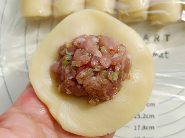 苏式鲜肉月饼的制作