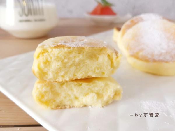 舒芙蕾厚松饼成品图