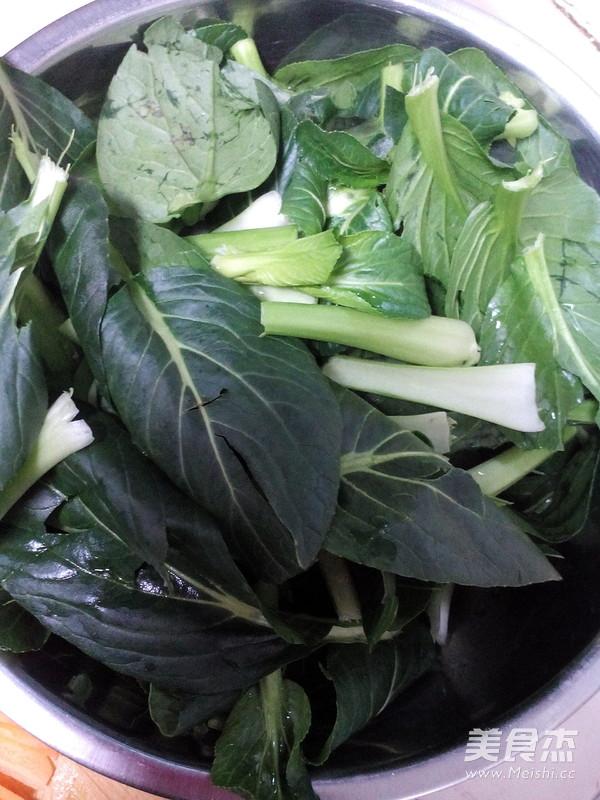 清炒油菜的做法图解