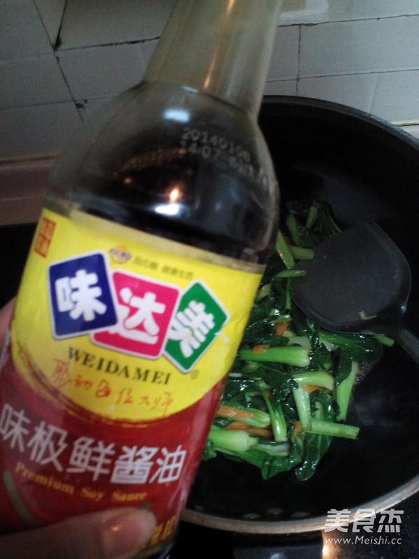 清炒油菜怎么做