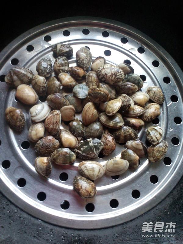原汁蒸蛤蜊的做法图解