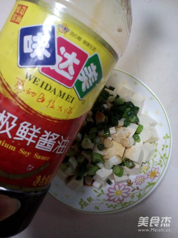小葱拌豆腐的简单做法