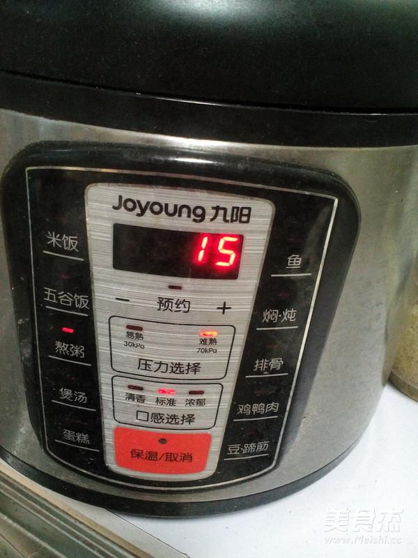 小米红薯粥怎么吃