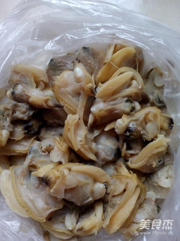 角瓜炒蛤蜊肉的做法图解