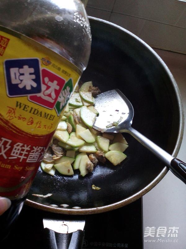 角瓜炒蛤蜊肉怎么炒