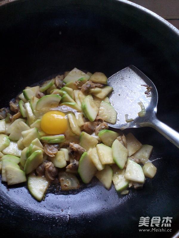 角瓜炒蛤蜊肉怎么煮