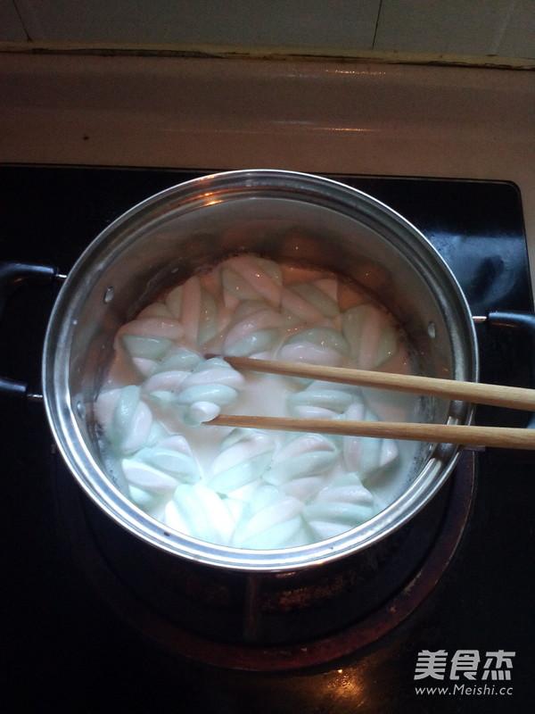 棉花糖布丁怎么吃