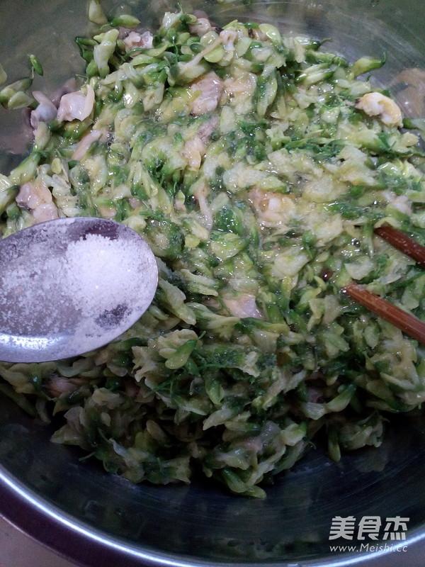 槐花蛤蜊饼怎么煮