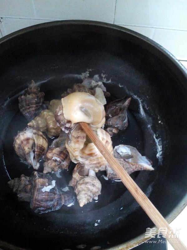 原汁海螺的家常做法