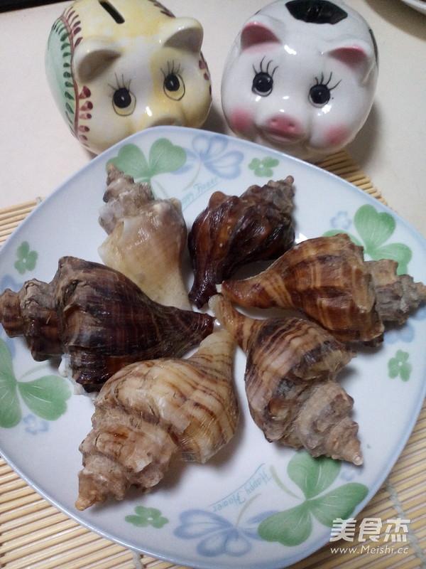 原汁海螺的简单做法