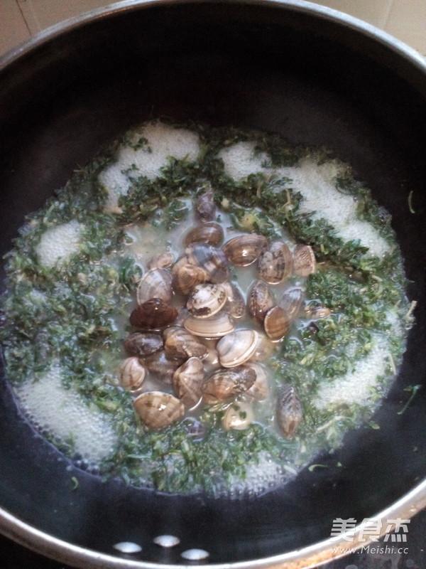 荠菜蛤蜊汤怎么炒