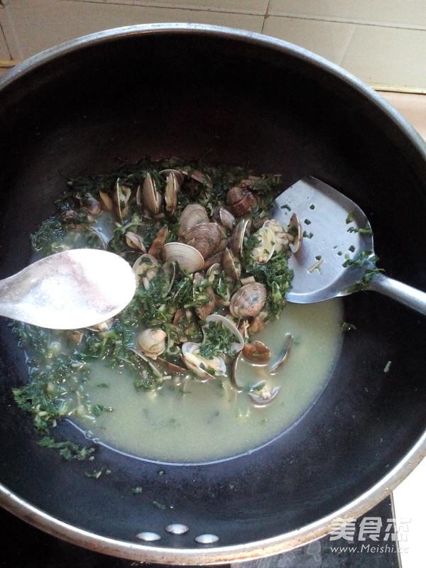 荠菜蛤蜊汤怎么煮