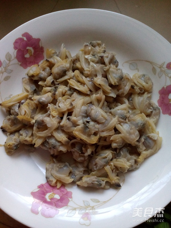 韭菜蛤蜊饼的做法图解