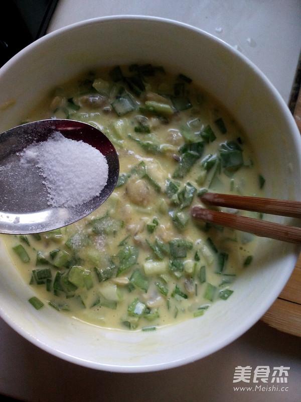 韭菜蛤蜊饼怎么炒