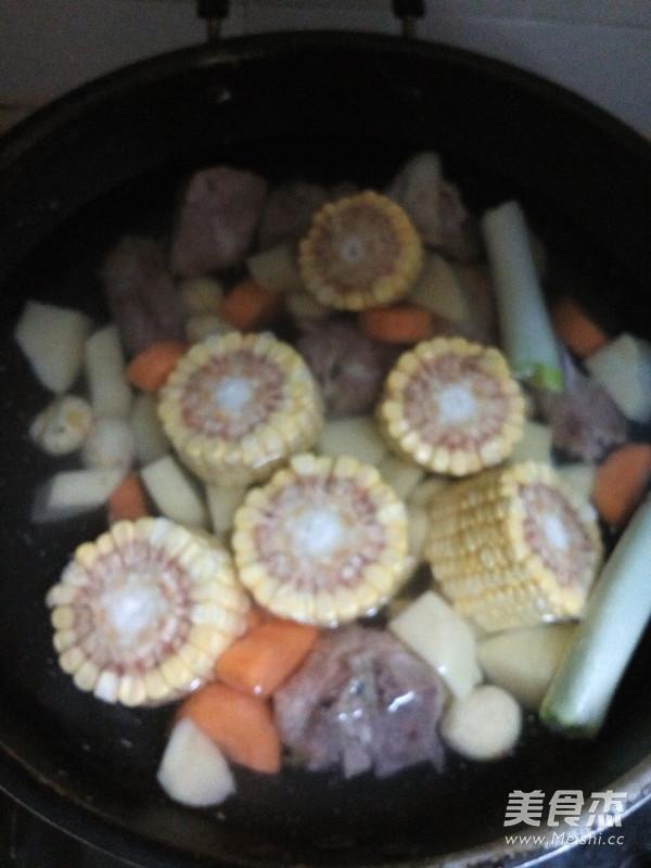 排骨玉米汤怎么炒